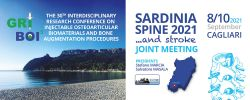 SARDINIA SPINE 2021… and stroke. JOINT MEETING / THE 30TH  GRIBOI CONFERENCE